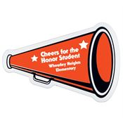 Auto Magnet Megaphone - Personalization Available