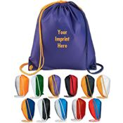 Spirit Drawcord Backpack - Personalization Available