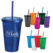 Sip 'N' Go Acrylic Cup 16-oz. - Personalization Available
