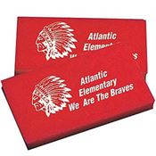 Rectangular Shape Imprintable Eraser - Personalization Available