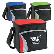 Waterproof Wave Six-Pack Cooler With Adjustable Shoulder Strap - Personalization Available