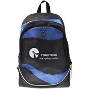 Wave Backpack - Personalization Available