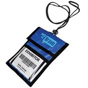 Trade Show Badge Holder - Personalization Available