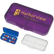 Rectangular Shape Pill Holder - Personalization Available