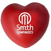 Heart-Shaped Stress Reliever - Personalization Available