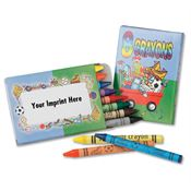 8 Pack Of Non-Toxic Crayons - Personalization Available