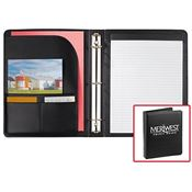 The Associate Ringbinder With 30 Sheets Of Ruled Notepad Paper & Pen Loop - Personalization Available