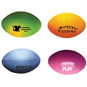 Color Changing Stress Football - Personalization Available
