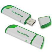 4GB Slanted USB 2.0 Flash Drive - Personalization Available