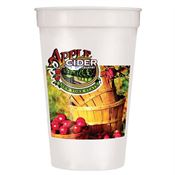 Smooth Stadium Cup- 17-Oz. - Full-Color Digital - Personalization Available