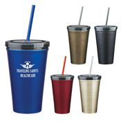 Stainless Steel Sip 'N' Go 16-oz. - Personalization Available
