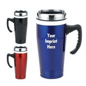 Ceramic & Stainless Steel Travel Mug 16-oz. - Personalization Available