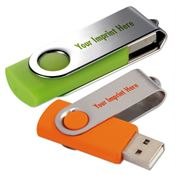 Folding USB 2.0 Flash Drive 8G - Personalization Available