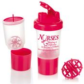 Protein/Vitamin Shaker Bottle 17-Oz. - Personalization Available