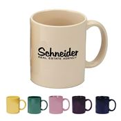 11-oz. Color Ceramic Mug - Personalization Available