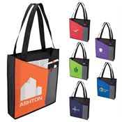 Non-Woven Tote Bag With Two Front Pockets - Personalization Available