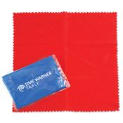 Square Microfiber Cloth With Case - Personalization Available