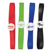 "6 1/2"" Colored Elastic Band-It Bookmark - Personalization Available"