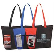 Zipper Bottle Tote - Personalization Available