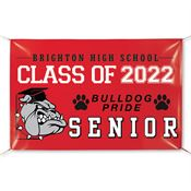 Fully Custom Full-Color School Banner - Personalization Available