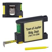 6 1/2 Ft. Level Notepad Tape Measure - Personalization Available
