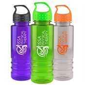 Tritan™ Salute Water Bottle With Crest Lid 24-oz. - Personalization Available