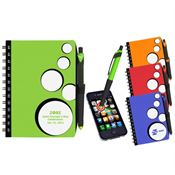 SpotLight Notebook & Stylus Pen - Personalization Available