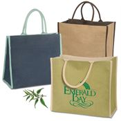 Super Jute Tote - Personalization Available