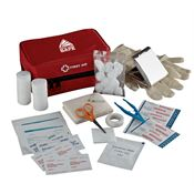 Staysafe Travel Zippered First Aid Kit - Personalization Available