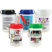 Hand Sanitizer Mini Wipe Canister - Personalization Available