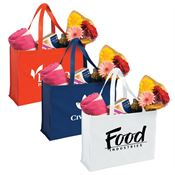 Non-Woven Shopping Tote - Personalization Available