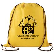 Non-Woven Drawstring Backpack - Personalization Available