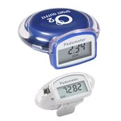 Round Step Pedometer - Personalization Available
