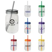 Mason Jar Tumbler 28-oz. - Personalization Available