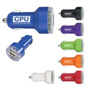 USB Dual Car Charger - Personalization Available