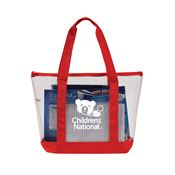 Clear Zipper Tote - Personalization Available