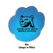 Die Cut Paw Mood Eraser - Personalization Available