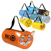 """PAWS""itive Pals Barrel Bag - Personalization Available"