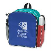 Padded Backpack-Style Diaper Bag With Two Insulated Compartments - Personalization Available