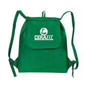 eGREEN Fold Up Drawstring Cooler Backpack - Personalization Available