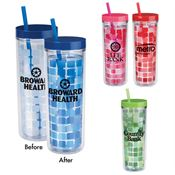 Mood Cube Tumbler 16-oz. - Personalization Available