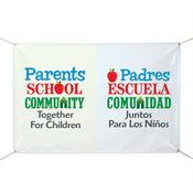 Parents - School - Community - Together For Children Banner