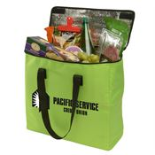 Insulated Journey Large Cooler Tote With Black Carrying Strap - Personalization Available