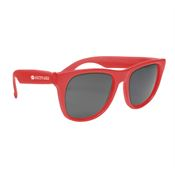 FDA Approved Solid Color Ultraviolet Tinted UV400 Sunglasses - Personalization Available