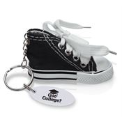 Got College? Mini Canvas Hi-Top Sneaker Key Tag - Personalization Available