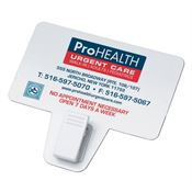 Business Card Magnet With Clip - Personalization Available