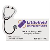 Stethoscope Business Card Magnet - Personalization Available