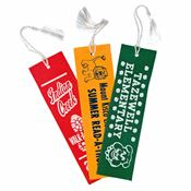 Rigid Felt Bookmark With Tassel - Personalization Available