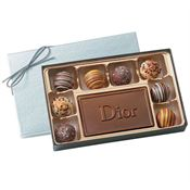 8-Piece Filled Truffles Gift Box - Personalization Available