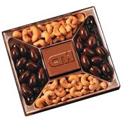 10 Oz. Chocolate Confections Gift Box - Personalization Available